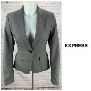 Express Design Studio One Button Blazer Size 2